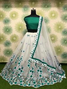 Lehenga Heavy Choli Wedding Bridal Indian Lengha Designer Wear Ethnic Party eid