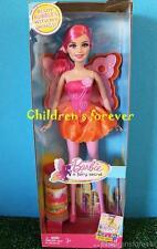 Barbie A Fairy Secret Blow Bubbles W My Wings & Bubble Solution Mattel Doll New