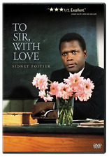To Sir, With Love [DVD, NEW] FREE SHIPPING