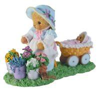 Cherished Teddies Teddy Bear Figurine Figure Bette Girl Flowers Baby CT1202 New