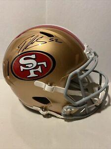 Patrick Willis Signed San Francisco 49ers Full-Size Speed Helmet Beckett