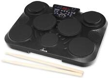 Digital E-Drum Set Portable Percussion Pad elektronisches Schlagzeug USB MIDI
