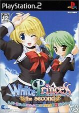 Used PS2 White Princess the Second SONY PLAYSTATION 2 JAPAN