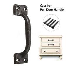 Antique Cast Iron Cabinet Door Gate Pull Handle Drawer Cupboard Decorative DIY