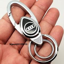 Audi Key Ring Key Chain Fob Car Key Holder a1 a2 a3 a4 q7 s lines