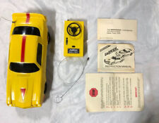 Latrax Vintage Radio Remote Controlled Camaro Z28 Rc Car Yellow and Red Rare