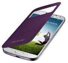 Original SAMSUNG S View Cover EF-CI950BVEGWW für Galaxy S4  Violett