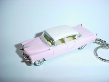 NEW 3D PINK 1955 CADILLAC EL DORADO CUSTOM KEYCHAIN keyring ELVIS caddy 55' ROCK