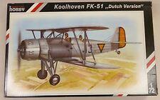 Special Hobby 1/72 Koolhoven FK-51 Dutch Version Biplane 72048