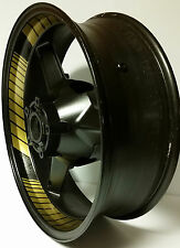 GOLD CUSTOM INNER RIM DECALS WHEEL STICKERS STRIPES TAPE GRAPHICS TRIM VINYL KIT