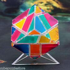 3x3x3 Ghost Ninja Magic Cube Twist Puzzle Brain Training Fancy Toys Transparent