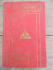 Guide touristique Champagne 1963/ Maaif