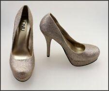 Platform & Wedge Medium Width (B, M) Width Synthetic Formal Heels for Women