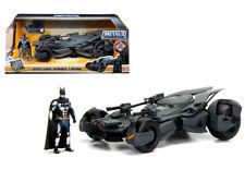 Justice League Batmobile & Diecast Batman Figure 1/24 Model Car By Jada 99232