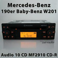 Original Mercedes audio 10 CD MF2910 CD-R C-Class 190er Car Radio W201 Radio
