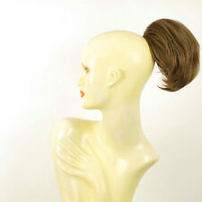 Hairpiece ponytail short light brown golden ref 2/12 peruk