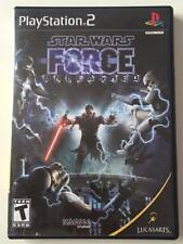 SONY PlayStation 2 PS2 Star Wars The Force Unleashed (BLACK LABEL VERSION)