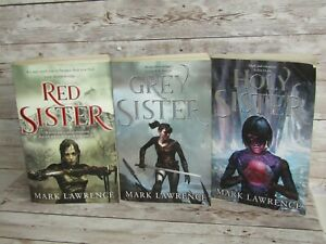 Red Sister Grey Sister Holy Sister  Book of the Ancestor Trilogy Used Condition
