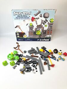Angry Birds •King Pig Castle Set •K'NEX• Replacement Parts Building Set w/box