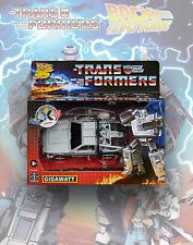 Transformers Gigawatt Back to the Future 35th Anniversary Deloreon SIB ✅