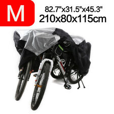 For 2 Bikes Waterproof Dust Bicycle Cover Rust Rain Storage Protector Universal