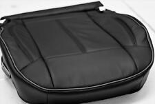 2006-2010 HUMMER H3 FACTORY BLACK LEATHER DRIVERS SEAT CUSHION UPHOLSTERY COVER
