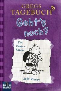 Gregs  Tagebuch Band 5 Geht's noch Taschenbuch sehr guter Zustand