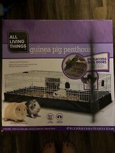Midwest Guinea Pig Small Bunny Rabbit Habitat Canvas Bottom Expandable Cage