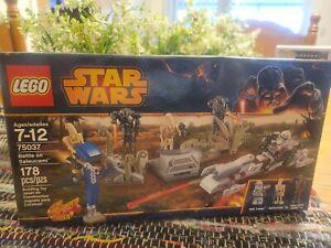 LEGO Star Wars 75037 Battle on Saleucami Set New In Box Sealed #75037 FREE SHIP