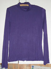 Sous-pull violet Femme, Taille M, marque In Extenso, viscose elastanne,