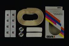 NOS Silva handlebar tape nastro manubrio Colnago plugs vintage New Lenkerband