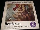 BEETHOVEN<>FAMILY LIBRARY GREAT MUSIC NO.20<>SEALED Lp Vinyl~Canada Pressing<>