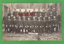 Royal Mail Post Office staff of  SEDO Southwark London RP pc used 1907 Ref H81