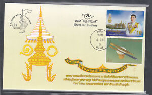 Thailand 2019  5 Special FDC  Coronation King Rama X signed by designer stamps