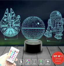 Holinox Star Wars Lamp Death Star 3D Light