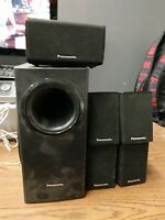 Panasonic 5.1-Channel Home Theater Speaker System SB-HB480 HB-230 HC-230 HF-230