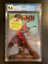 SPAWN #119 CGC 9.6 WHITE PAGES GUNSLINGER SPAWN CAMEO 2002