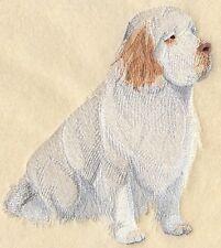 Embroidered Ladies Fleece Jacket - Clumber Spaniel C4973 Sizes S - Xxl