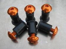 Screen Bolt Kit, orange anodised alu, 6 bolts, for KTM 990 Adventure