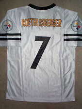 Pittsburgh Steelers BEN ROETHLISBERGER nfl Jersey YOUTH KIDS BOYS CHILDRENS (xl)