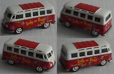 Johnny Lightning - VW Bus T1 Samba rot Indy Fan Bus Indianapolis