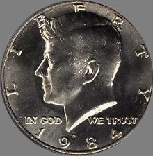 1984 P & D Kennedy Half Dollar Pair Choice/Gem Bu Set from mint sets No Reserve