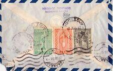 GRECIA - INTERESSANTE LETTERA DA VOLOS A KALAMAI - 1952 - BELLA AFFRANCATURA