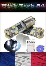 AMPOULES 8 LED SMD BAX9S H6W  BLANC SANS ERREUR ODB FEUX DE POSITION.*NEUF&*..
