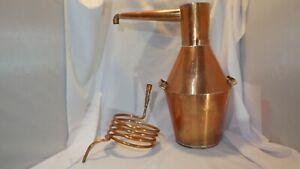 Copper Moonshine & Whiskey Still& Coil