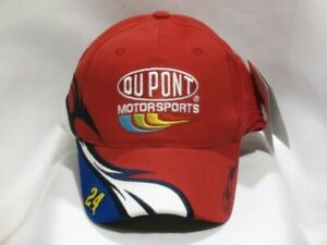 Jeff Gordon #24 DuPont Speed NASCAR Hat Cap by Chase Authentics! NEW with tags!