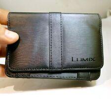 Panasonic Lumix camera Protective Leather Pouch Case w/ wrist strap genuine OEM