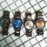 Stylish Mens Analog Quartz Watch Alloy Stainless Steel Strap Wrist Watches Cheap