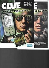 CLUE SECRETS & SPIES Game Parker Brothers 2009 Replacement Parts Instructions
