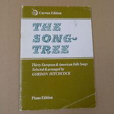 Songbook LA CANZONE TREE 30 Europea + CANZONI POPOLARI americani, G. Hitchcock, pianoforte ed